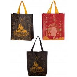 Einkaufstasche Einkaufsbeutel Buddha Tragetasche Einkauf tasche Beutel 32x40cm Shopper