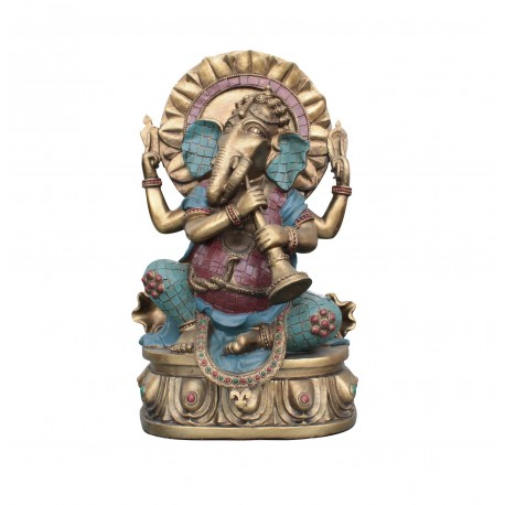 Ganesha Statue 30cm Hinduismus XL ganescha Figur buddha budda indien buddhismus