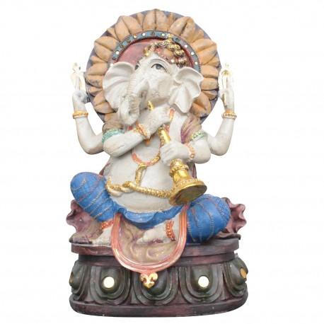 Ganesha Statue 30cm große ganescha Figur Hinduismus indien buddhismus buddha XL