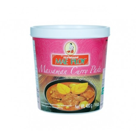 Masman Curry Paste Authentische Gewürzpaste aus Thailand 50g Currypaste original