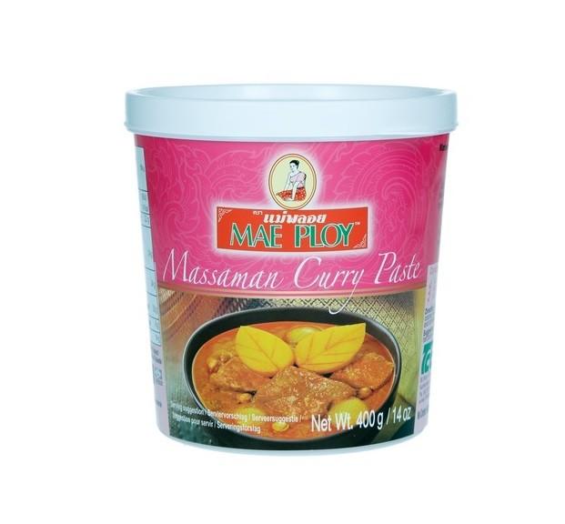 Masman Curry Paste Authentische Massaman Gewürzpaste 400g Currypaste original Thailand