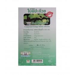 GingkoTee 40 TeeBeutel Kräutertee Ginkgo biloba 60g ginko Thailand Ginkoblätter