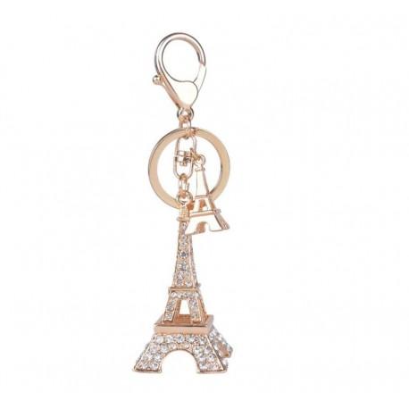 Schlüsselanhänger XL Strass Eiffelturm Glücksbringer Liebe Frankreich eifelturm