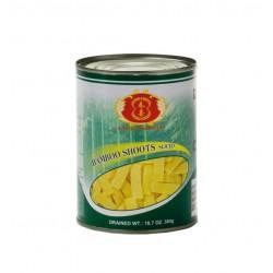 knackige Bambussprossen in Scheiben 567g/Abtropfgewicht: 304g Dose Asia Food Gemüse