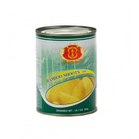 knackige Bambussprossen Spitzen 567g/Abtropfgewicht: 304g Dose Asia Food Gemüse