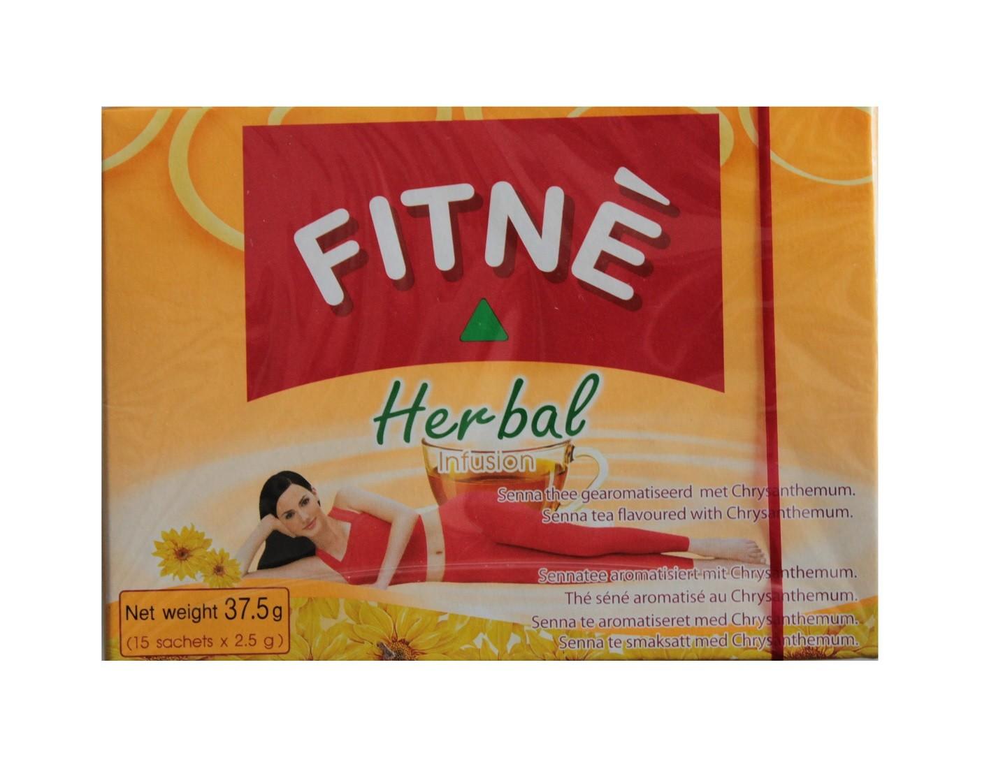 FITNE Sennakrauttee + Chrysanthemum 15 TeeBeutel gesamt 37,5g sennakraut Diät Fitness Abführtee