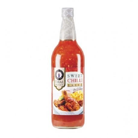 süße Chilisauce Hot + Spicy 735 ml Flasche für Frühlingsrollen, Dip, Fleisch, Fisch sweet Chilli sauce
