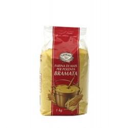 Mailsmehl 1kg Maisgrieß getrockneter gelber Mais grob für Polenta oder Backen
