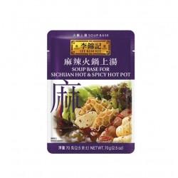 Hot Pot Sichuan Hot & Spicy 70g Basis Sauce Paste für Chin Fondue Würzsauce Feuertopf hotpot