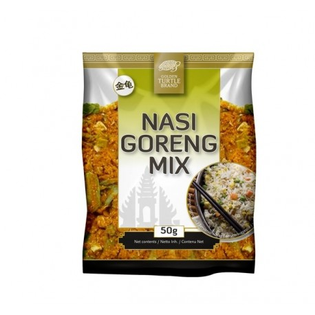 Nasi Goreng Mix Gewürzmischung 50g mit Rezept nasigoreng Reisgericht Gemüsemix