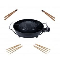 Korea Grill 1800W multifunktionales koreanisches Grill-Set Hot Pot Feuertopf Tischgrill Tristar