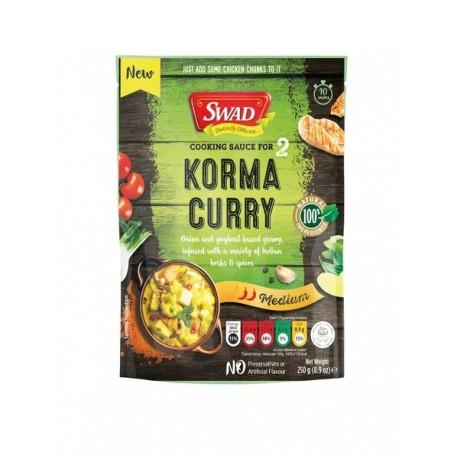 Indisches Korma Curry 250g fertige Sauce original aus Indien HALAL Fertigsauce
