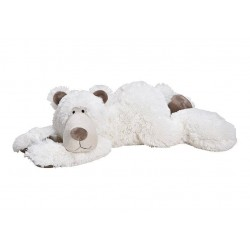 Plüschtier Eisbär 58cm flauschiger Knuddelbär Kuscheltier Stofftier Teddybär Polarbär