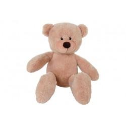 Teddybär 23cm flauschiger Knuddelbär Kuscheltier Stofftier beige Teddy AKTION