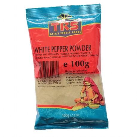 weißer Pfeffer Pulver 100g gemahlene Pfefferkörner white Pepper Powder