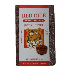 Roter Reis 1kg Thailand Royal Tiger Red Rice Original Thai