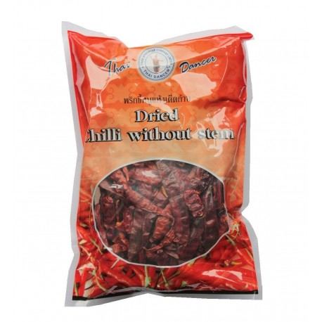 Chili Schoten 75g Beutel SCHARF ganze chillischoten ohne Stiel Top Qualität Thailand