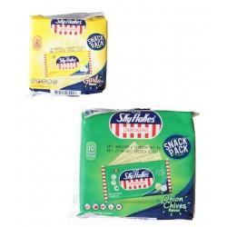 Sky Flakes Crackers Knoblauch Zwiebel Schnittlauch 250g Philippinen 10x a 25g Weizen Kekse