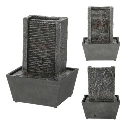 Zimmerbrunnen Feng Shui 18cm Batterie Tischbrunnen Wasserspiel Luftbefeuchter