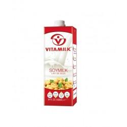 Sojamilch Drink 1L VitaMilk Soymilk Soja Milch (ges12Liter) Thailand Getränk