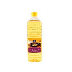 100% Sojaöl 1 Liter Qualitätsöl Woköl Bratöl Speiseöl Soybean Oil Soja Öl Oel