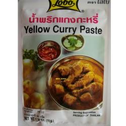 gelbe Curry Paste original Thailand yellow currypaste Asia Food gewürzpaste