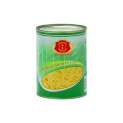 knackige Bambussprossen in Streifen 567g Dose Asia Food Gemüse dauerhaft günstig