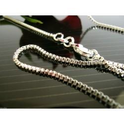 925 silber Kette versch. Längen m. Schmuckbeutel Venezianer Halskette massiv Sterlingsilber