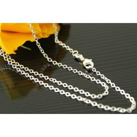 SilberKette Länge nach Wahl - Ankerkette Halskette Sterlingsilber Gliederkette anlaufgeschützt