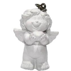"""Schlüsselanhänger mit Schutzengel 3,4 cm Engel Gabriel """"ich schenk dir mein Herz"""" Glücksbringer Glücksengel Liebe"""