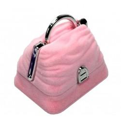Schmuckverpackung Tasche (ca. 5,5cm x 4cm, Höhe: 4,3cm)  4 Farben zur Wahl - Schmuckschachtel