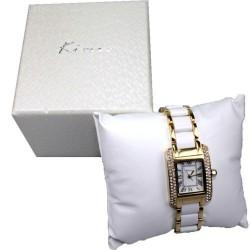 elegante Damenarmbanduhr von Kimio Design, Farbe nach Wahl, Edelstahl, Quarz-Uhrwerk
