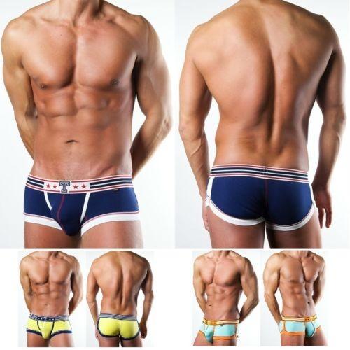 Cooler Herren Hipster Boxershorts  -zur Wahl  in 3 Farben und 3 Größen - Boxershorts,  Baumwolle/Elasthan