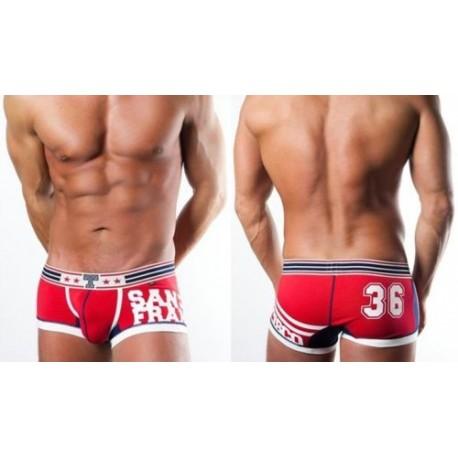 sexy Herren Hipster Boxershorts - zur Wahl in 3 Farben und 3 Größen - Herrenslip Baumwolle/Elasthan