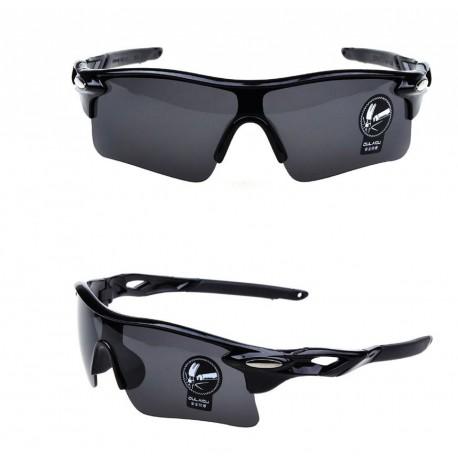Bikebrille Sonnenbrille Radbrille outdoorbrille Skibrille - bruchsichere Gläser, aus Kunststoff - extra leicht (29g)