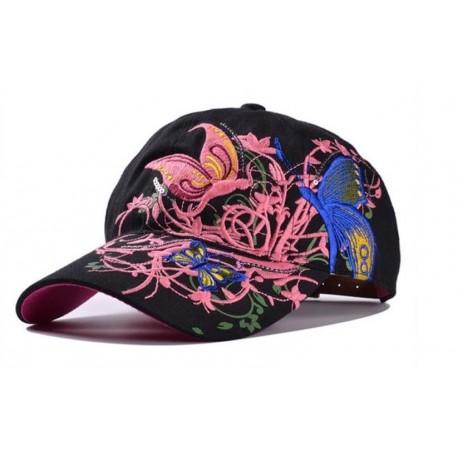 Basecap Schmetterling Baseball Cap Mütze hut kappe Hip Hop Snapback butterfly